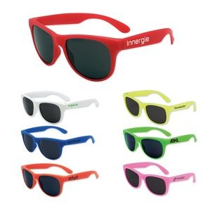 Kids Solid Color Classic Sunglasses
